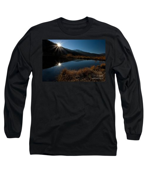 Brilliant Sunrise Long Sleeve T-Shirt by Steven Reed