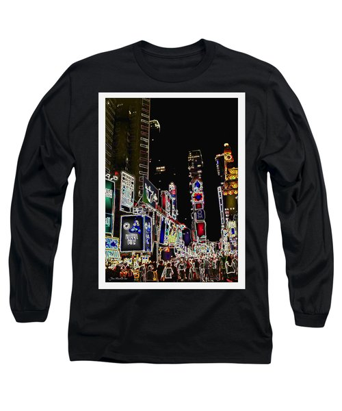 Broadway Long Sleeve T-Shirt by Joan  Minchak