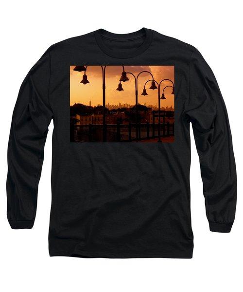 Broadway Junction In Brooklyn, New York Long Sleeve T-Shirt