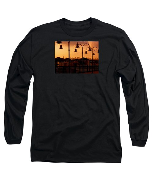 Broadway Junction In Brooklyn, New York Long Sleeve T-Shirt