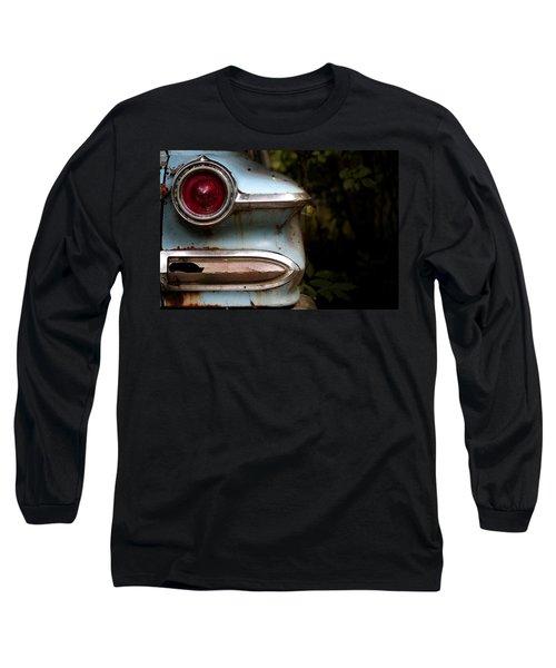 Long Sleeve T-Shirt featuring the photograph Broken Elegance by Rebecca Davis
