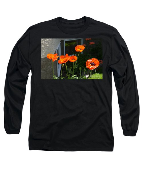 Broken Line Long Sleeve T-Shirt