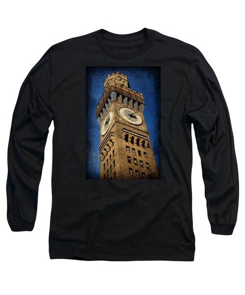 Bromo Seltzer Tower No 3 Long Sleeve T-Shirt