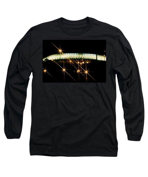 Bronx Night  Iv Yankee Stadium Long Sleeve T-Shirt