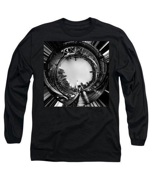 Brooklyn Bridge Circagraph 4 Long Sleeve T-Shirt
