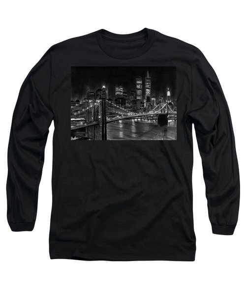 Brooklyn Bridge New York Long Sleeve T-Shirt