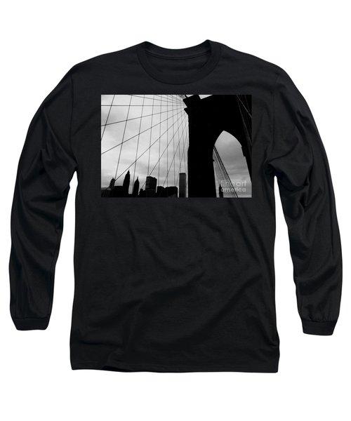 Brooklyn Bridge No.2 Long Sleeve T-Shirt
