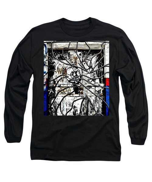 Broome Street Found Art Nyc Long Sleeve T-Shirt by Steve Archbold