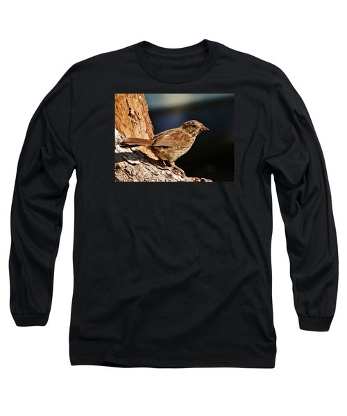 Long Sleeve T-Shirt featuring the photograph Brown Is Beautiful by VLee Watson