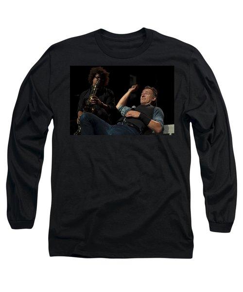 Bruce And Jake At Greasy Lake Long Sleeve T-Shirt