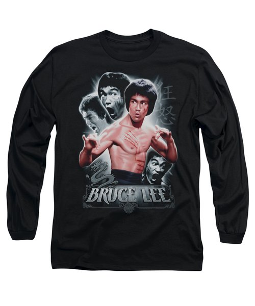 Bruce Lee - Inner Fury Long Sleeve T-Shirt by Brand A