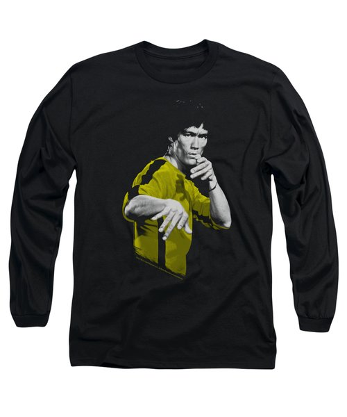 Bruce Lee - Suit Of Death Long Sleeve T-Shirt by Brand A