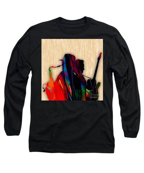 Bruce Springsteen And Clarence Clemons Long Sleeve T-Shirt