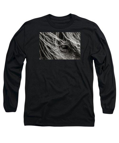 Brunn Stjarna Long Sleeve T-Shirt by Joan Davis