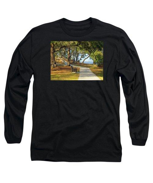Long Sleeve T-Shirt featuring the photograph Brunswick Town by Cynthia Guinn