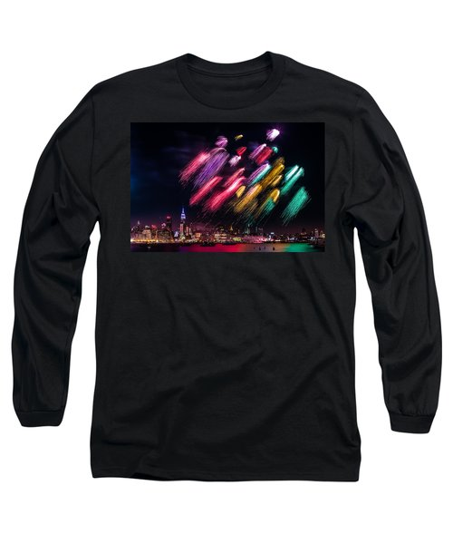Long Sleeve T-Shirt featuring the photograph Brushes by Mihai Andritoiu
