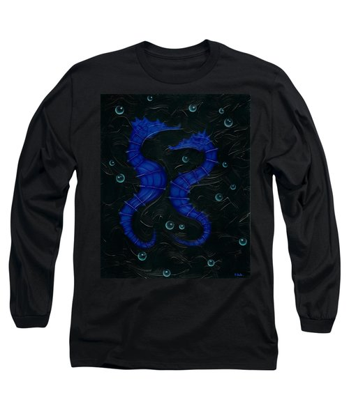 Long Sleeve T-Shirt featuring the painting Bubbles. by Kenneth Clarke