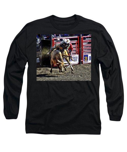Buckin Bull Long Sleeve T-Shirt