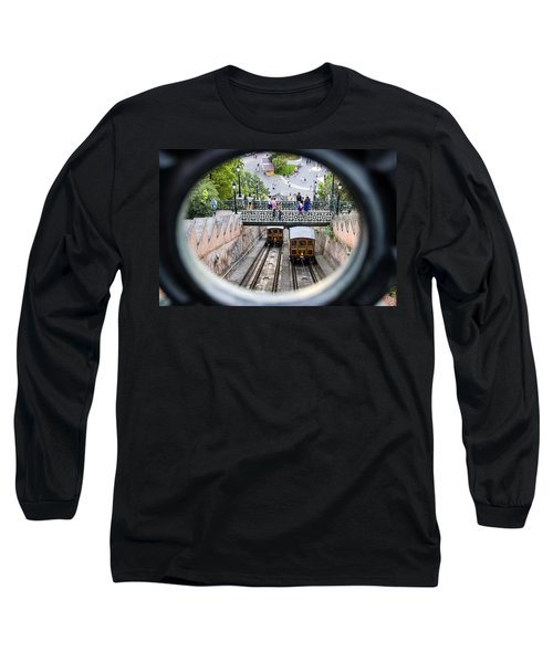 Budapest Castle Hill Funicular Long Sleeve T-Shirt
