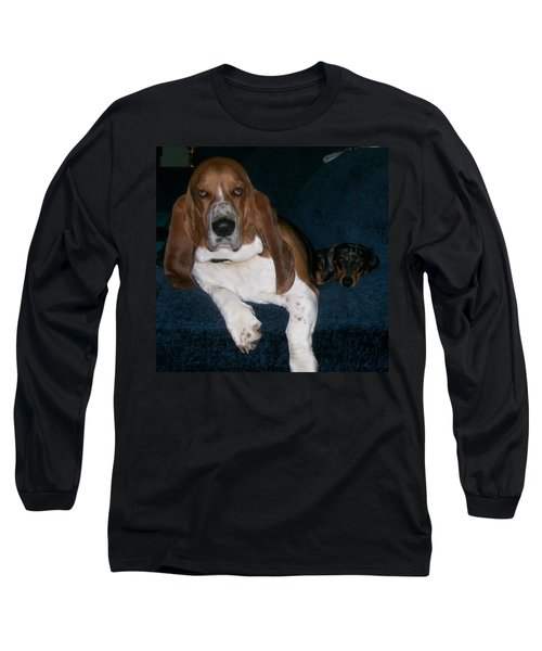 Buddies Long Sleeve T-Shirt by Peter Suhocke