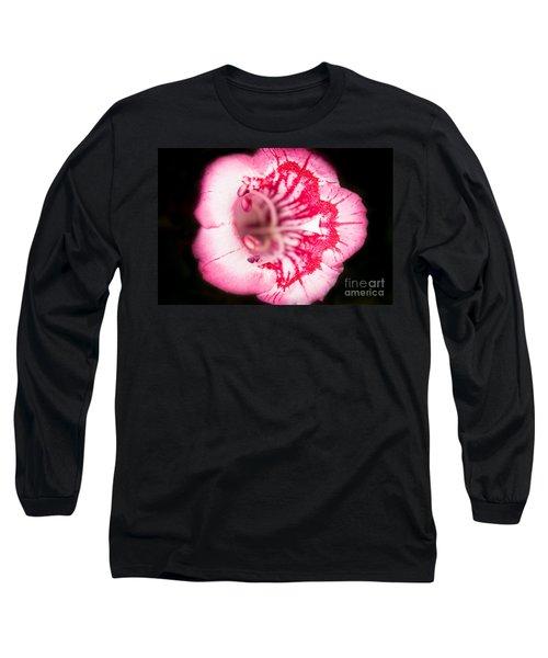 Budding Flower Long Sleeve T-Shirt