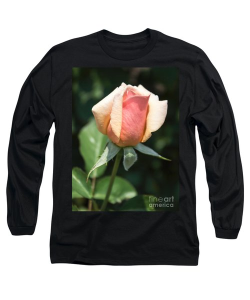 Budding Romance Long Sleeve T-Shirt by Arlene Carmel