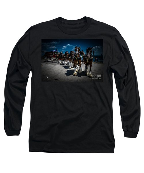 Budweiser Clydesdales Long Sleeve T-Shirt
