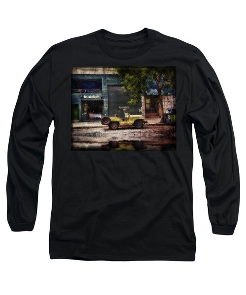 Buenos Aires Jeep Under The Rain Long Sleeve T-Shirt