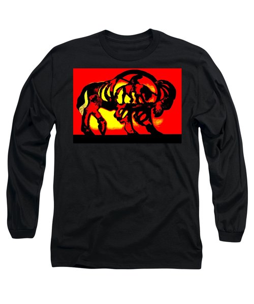 Buffalo Sun Set Long Sleeve T-Shirt