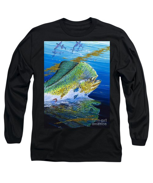 Bull Reflection Off0032 Long Sleeve T-Shirt