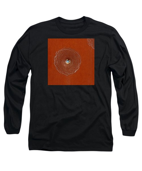 Bullet Hole Patterns Long Sleeve T-Shirt by Art Block Collections