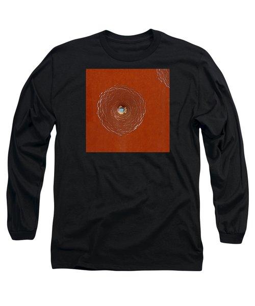 Bullet Hole Patterns Long Sleeve T-Shirt