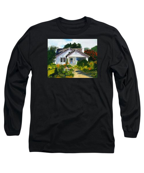 Bungalow In Sunlight Long Sleeve T-Shirt