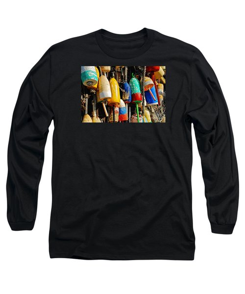 Buoys From Russell's Lobsters Long Sleeve T-Shirt