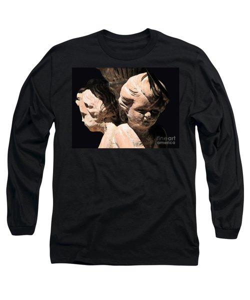 Long Sleeve T-Shirt featuring the photograph Burdened By Time by Ellen Cotton