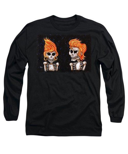 Burnin' Love 4 Ever Long Sleeve T-Shirt by Holly Wood