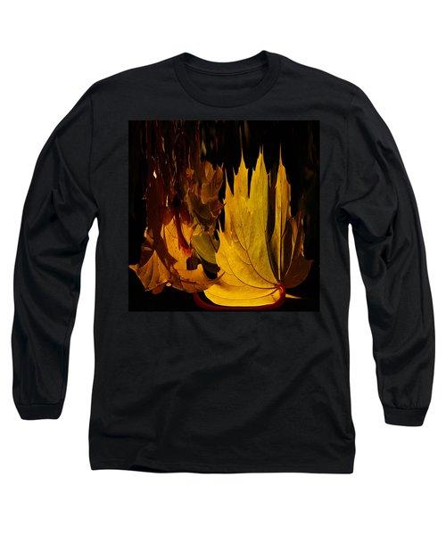 Burning Fall Long Sleeve T-Shirt by Jouko Lehto