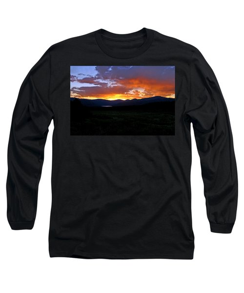 Long Sleeve T-Shirt featuring the photograph Burning Of Uncertainty by Jeremy Rhoades