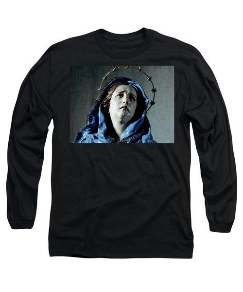 Bust Of Painful Virgin Long Sleeve T-Shirt