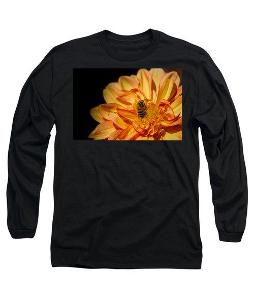 Busy Bee Dahlia Long Sleeve T-Shirt
