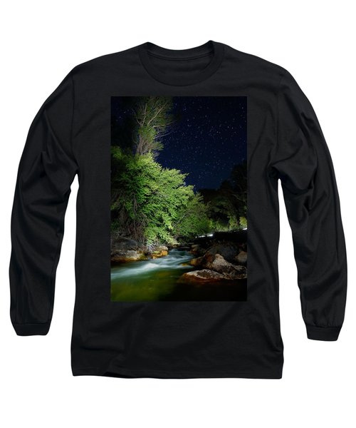 Long Sleeve T-Shirt featuring the photograph Busy Night by David Andersen