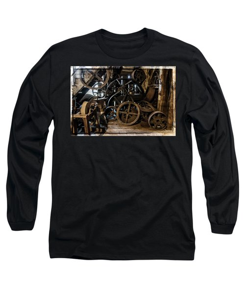 Butte Creek Mill Interior Scene Long Sleeve T-Shirt