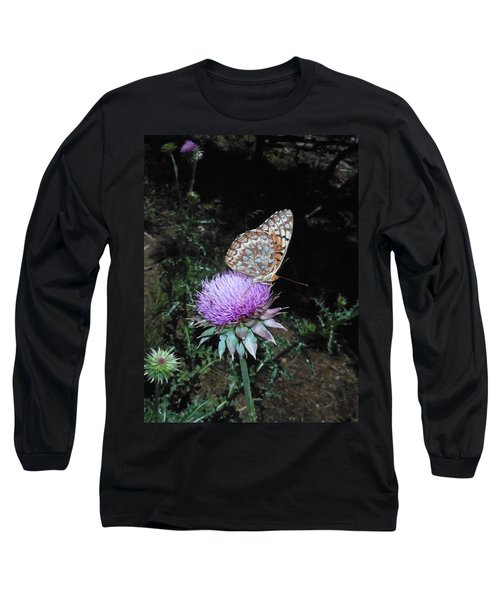 Butterfly At Peace Long Sleeve T-Shirt