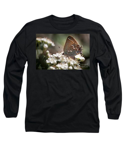 Butterfly In The Garden Long Sleeve T-Shirt