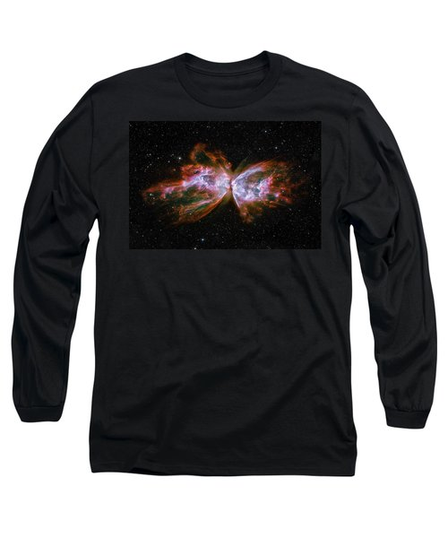 Butterfly Nebula Ngc6302 Long Sleeve T-Shirt