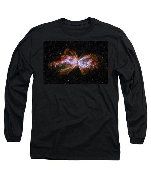 Butterfly Nebula Ngc6302 Long Sleeve T-Shirt