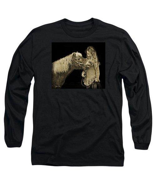 Butterscotch Long Sleeve T-Shirt by Joan Davis