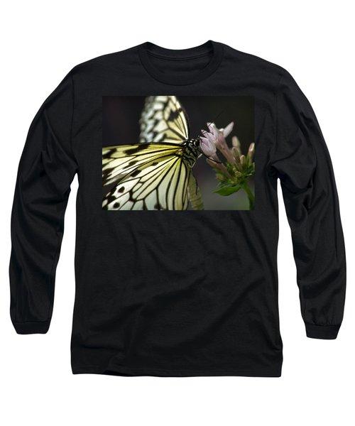 Butteryfly Long Sleeve T-Shirt by John Swartz