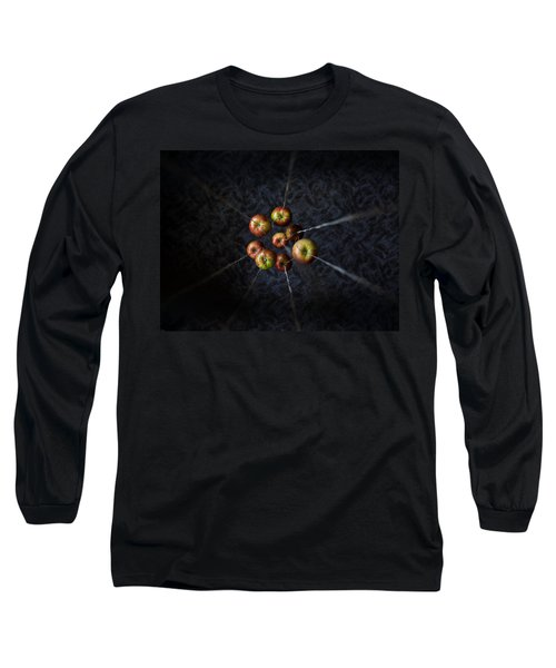 Long Sleeve T-Shirt featuring the photograph By A Thread by Aaron Aldrich