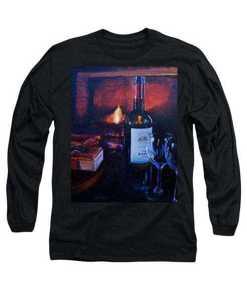 By The Fire Long Sleeve T-Shirt